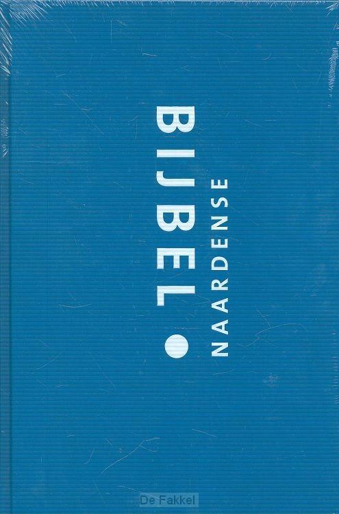 Naardense bijbel met dcb blauw