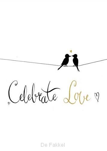 Kaart celebrate love