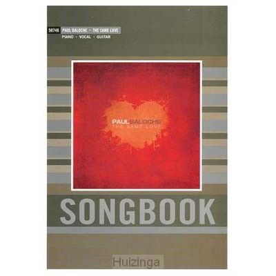 Same love songbook, the
