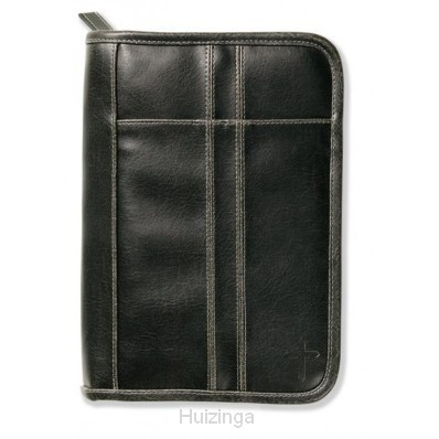 Biblecover distressed black large