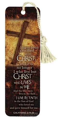 Bookmark I have been crucified set3