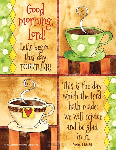 Square magnet Good morning Lord