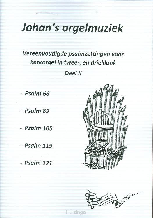 Psalmzetting dl 2 kerkorgel 2+3klank