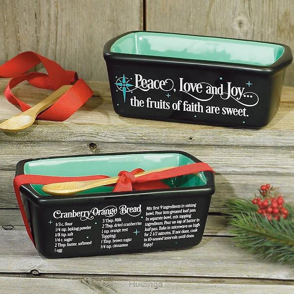 Mini loaf pan christmas