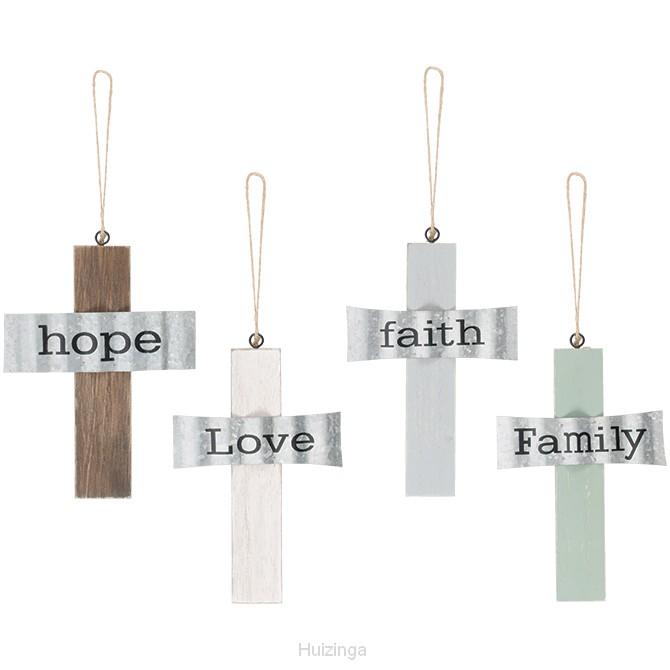 Hanging crosses set4