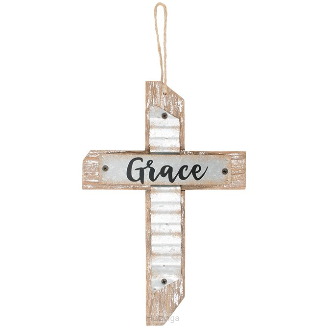 Hanging cross grace 17,8cm