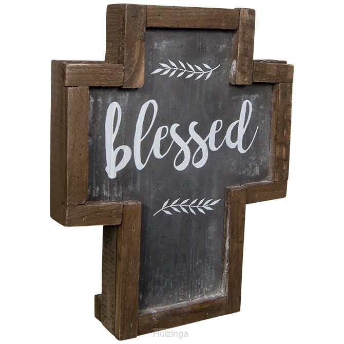 Mini rustic dust cross blessed