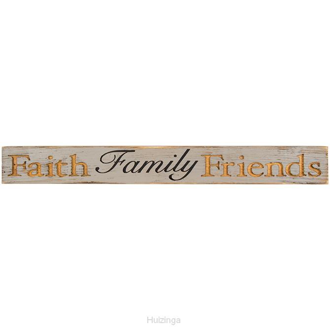 Message bar faith family friends