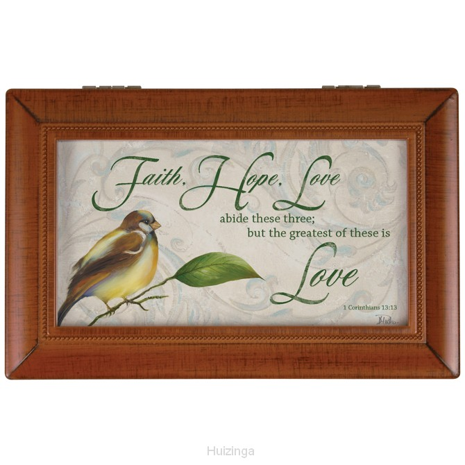 Musicbox faith hope love