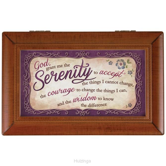 Music box serenity Prayer