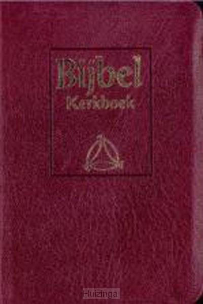 Microbybel nbg geref kerkboek burgundy