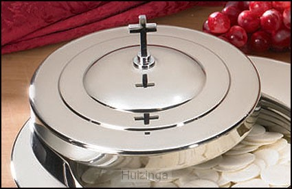 Stacking bread plate cover stainless ste