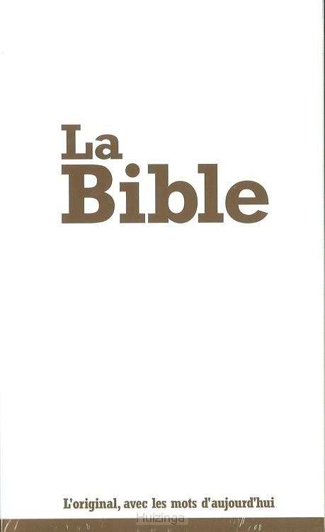 la Bible (frans pocket)**