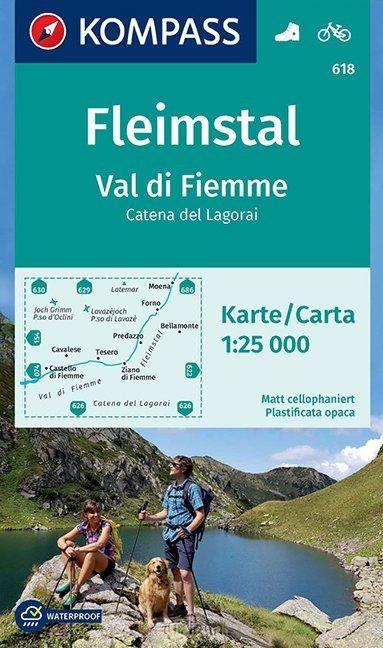 Fleimstal, Val di Fiemme, Catena dei Lagorai