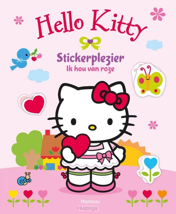 Stickerplezier / Ik hou van roze