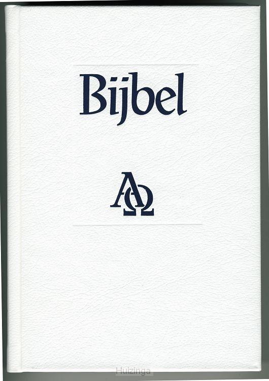 Huwelijks Bijbel NBG Wit