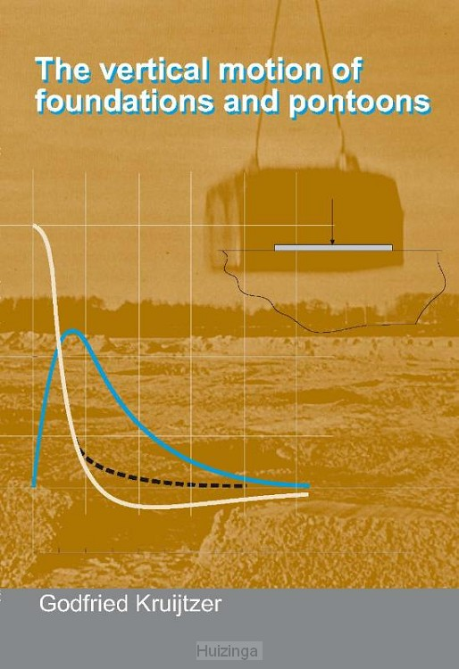 The vertical motion of foundations and pontoons