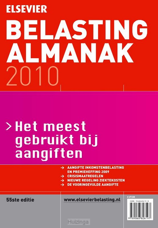 E-book Belasting Almanak