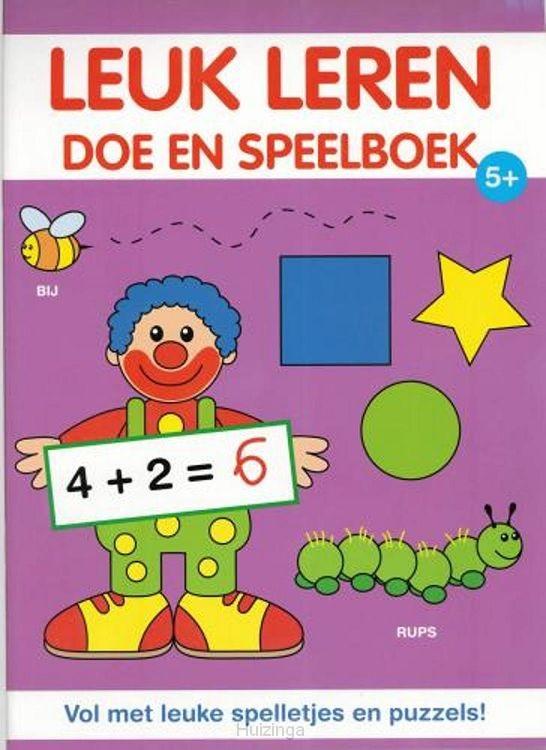 Leuk leren doe en speelboek 5+