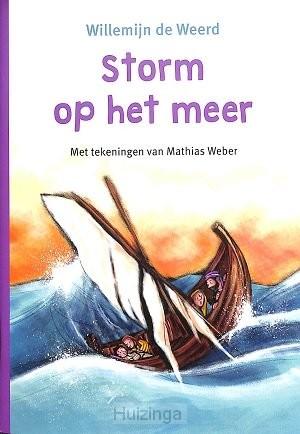 Storm op het water