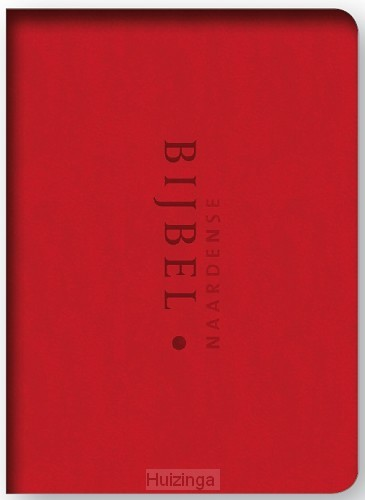 Naardense bijbel rood vivella dundruk
