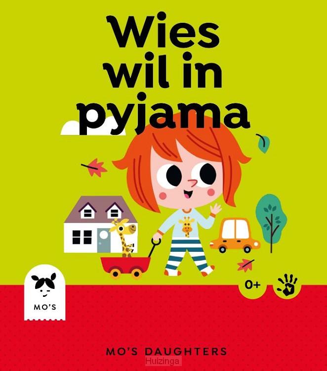 Wies wil in pyjama