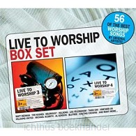 Live to worship box set 3&4