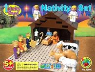 Nativity set Building Blocks