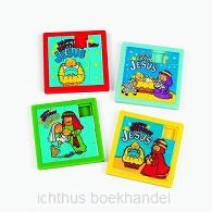 Slide puzzles happy birthday Jesus set12