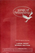 Songs of fellowship 1 words large p