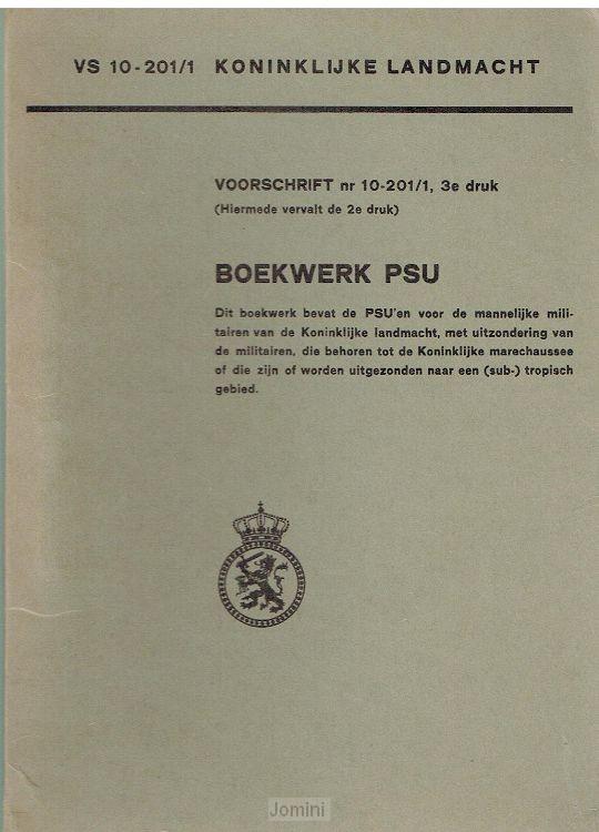 VS 10-201/1 Boekwerk PSU