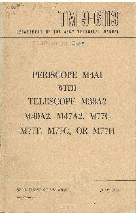 TM 9-6113 persicope M4A1