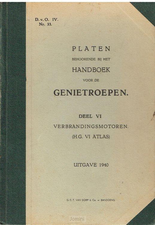 Platen Handboek Genietroepen