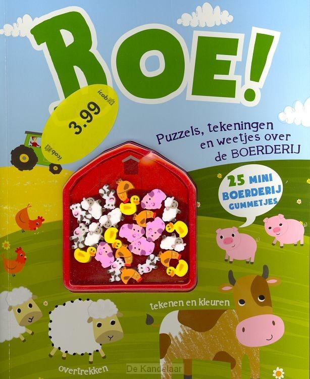 Boe! Puzzel- en kleurboek