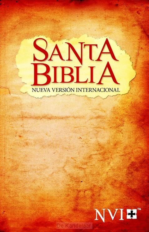 NVI santa biblia colour softcover