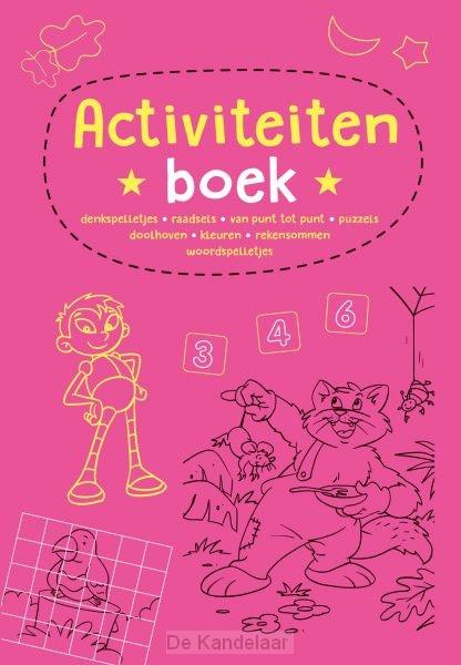 Activiteitenboek - roze