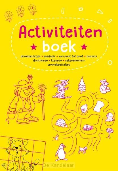 Activiteitenboek - geel