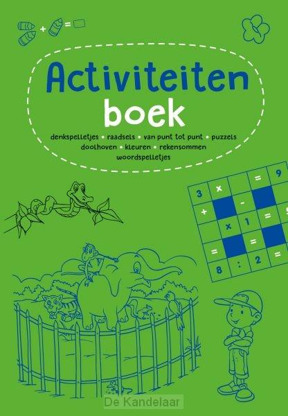 Activiteitenboek - groen