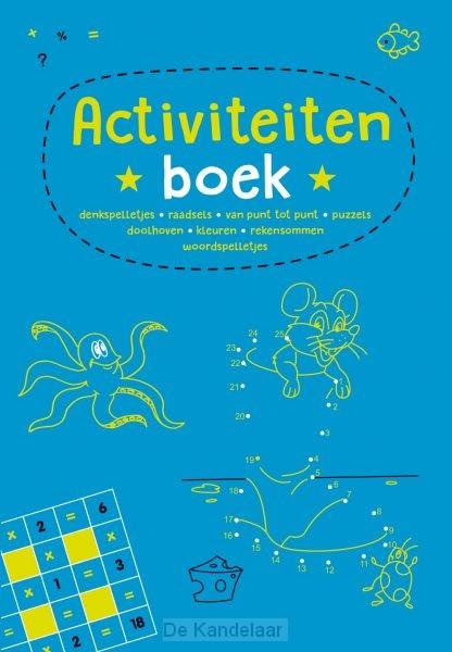Activiteitenboek - blauw