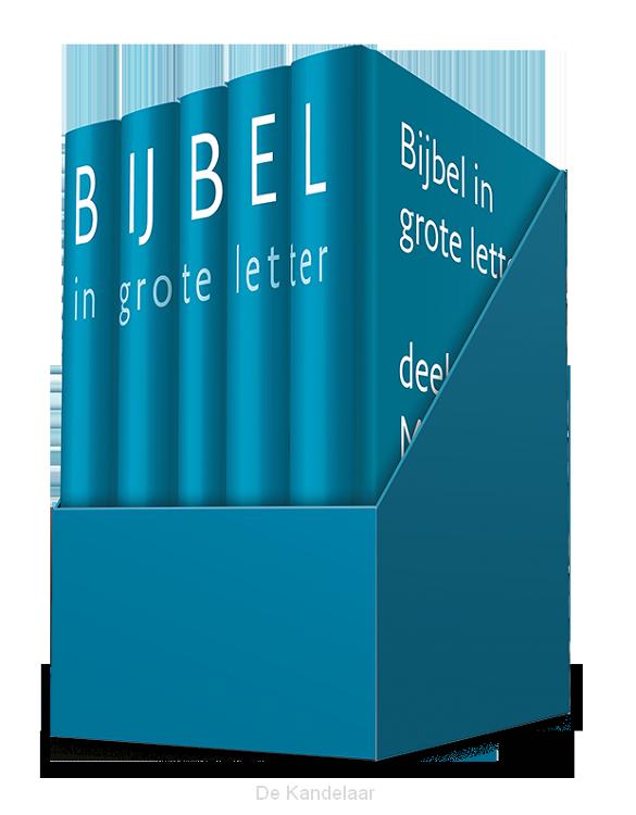 Nieuwe bijbelvertaling grote letter
