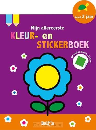 Bloem 2+ - mijn kleur- en stickerboek