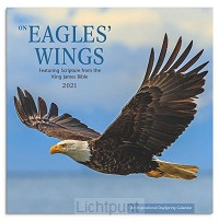 2021 Mini Wall Calendar Eagles'' Wings