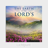 2022 Wall Calendar Earth is the Lord''s
