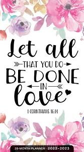 2022 28 Month planner 1st Corinthians