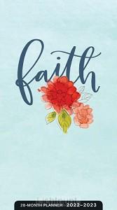 2022 28 Month planner Faith