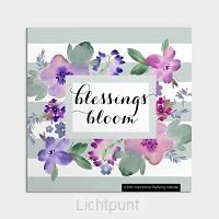 2022 Wall Calendar Blessings bloom