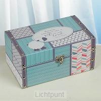 Baby keepsake box boy