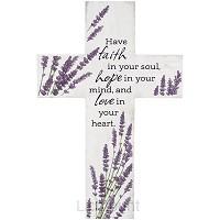 Wall cross Faith