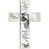 Wall cross Ask Seek Knock