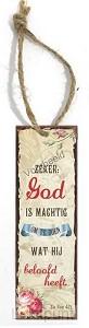 Zeker God is machtig